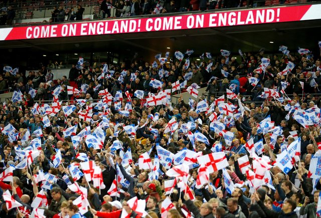 With England two games away from glory, questions are being asked once more of where Scottish loyalties should lie (Picture: Steven Paston/PA Wire)