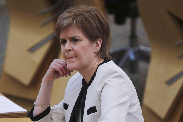 "Nicola Sturgeon has accused Alex Salmond of an ""alternative reality""."