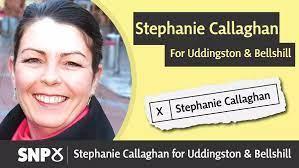 Tweet deleted: Stephanie Callaghan