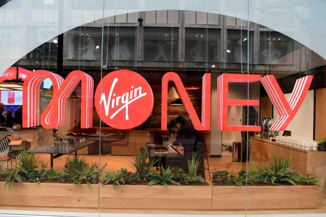 The lender is rebranding Clydesdale Bank and Yorkshire Bank branches under the Virgin Money banner. Picture: Virgin Money
