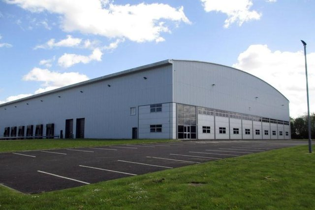 The Titan logistics facility at Eurocentral in North Lanarkshire extends to almost 124,0000 square feet.
