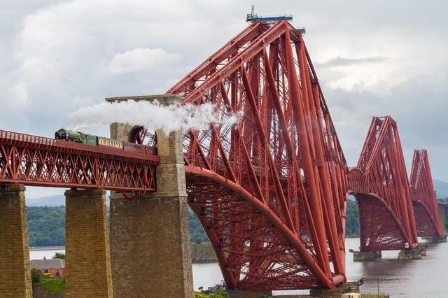The steam locomotive Tornado will be powering passengers along the tracks between Edinburgh and Aberdeeen.
