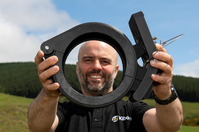 Plumber turned entrepreneur Ross Dickinson has developed a unique pipe repair solution which could have huge potential across industrial applications. Picture: Ian Jacobs