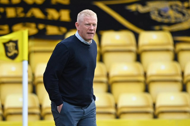 Gary Holt has stepped down as Livingston manager following Saturday's home defeat to St Mirren. (Photo by Bill Murray / SNS Group)