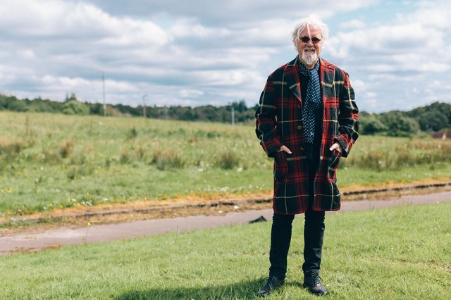 Billy Connolly is reflecting on his life and career in the new BBC Scotland documentary series. Picture: Jaimie Gramston