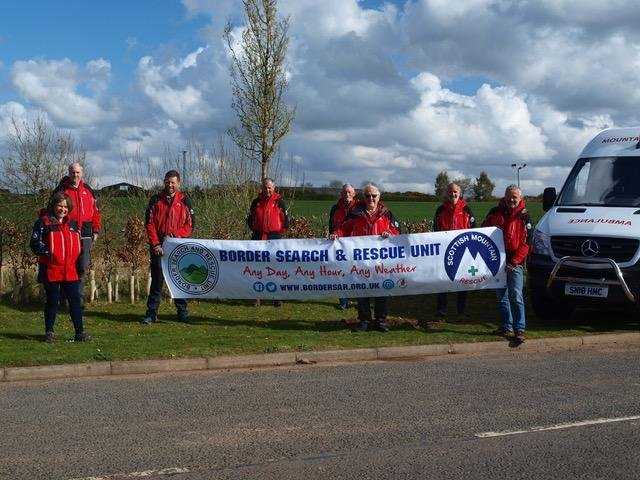 BSARU team on their new site at Plot 10, Pinnacle Hill Industrial Estate in Kelso on Friday, April 30 (Photo: BSARU).