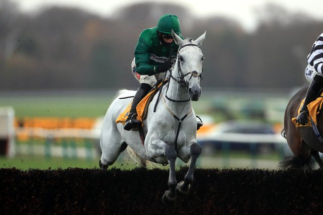 Bristol de Mai and Daryl Jacob are a strong partnership over the Aintree fences.