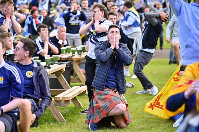 Scotland fans are not primarily to blame for rising Covid cases. (Picture: Jeff J Mitchell/Getty Images)