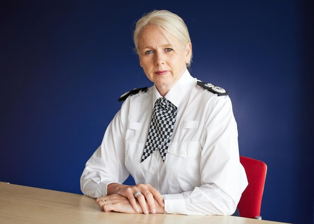 Lucy D'Orsi is British Transport Police's first female chief constable. Picture: Paul Broadrick/BTP
