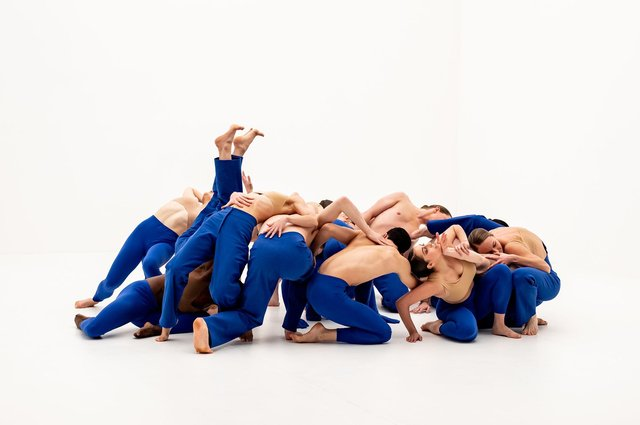 A scene from Dive, by Scottish Ballet