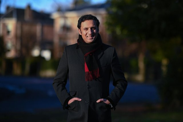 Scottish Labour MSP, Anas Sarwar, poses for a portrait in Glasgow, Scotland. Picture: Jeff J Mitchell/Getty Images