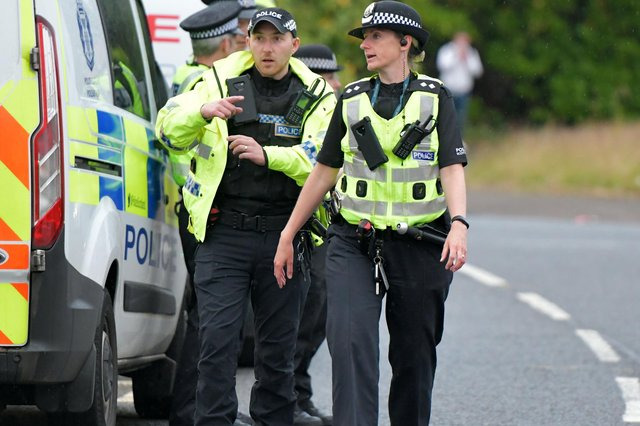 Police have been called to more racially aggravated crimes in Scotland in 2019/20 compared to the year before.