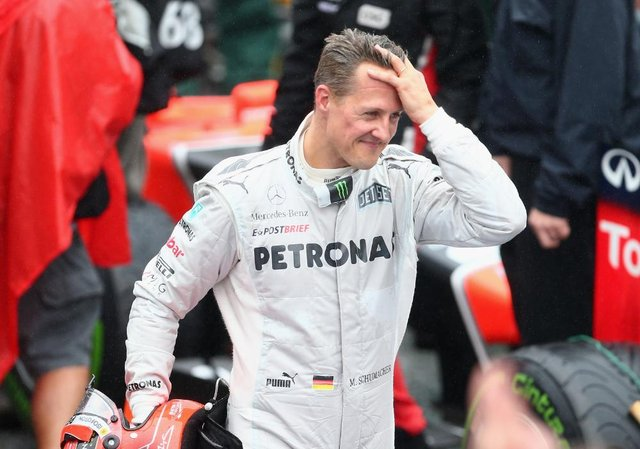 """Michael Schumacher is said to be receiving treatment which could help him """"return to a more normal life"""" (Getty Images)"""