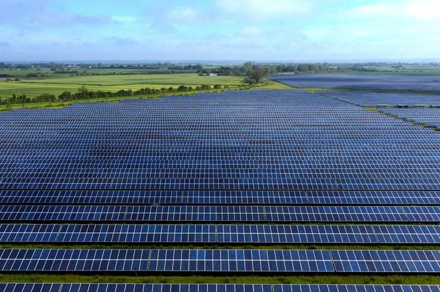 Industry body Solar Energy UK has set out a roadmap to ramp up solar panel capacity over the next eight years. Picture: Gareth Fuller/PA