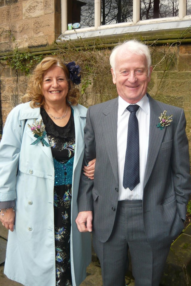 Marion Ritchie and her husband David