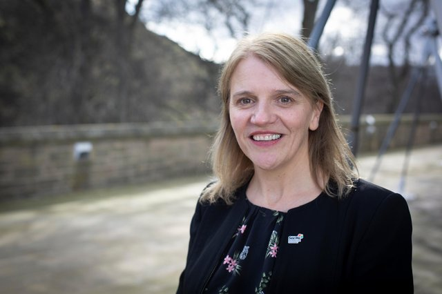Wendy Halliday, See Me Director. Picture:: Marc Turner/ See Me Scotland