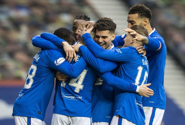 Rangers edged one step closer to the title with a win over St Mirren. (Picture: SNS)