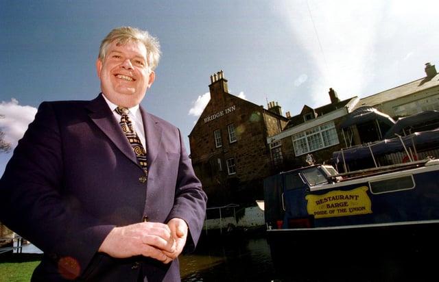 Ronnie Rusack's Bridge Inn won a total of 18 national awards