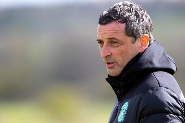 Hibs manager Jack Ross says no-one should have to accept online abuse and wants to see tougher punishments introduced for those who overstep. Photo by Alan Harvey / SNS Group