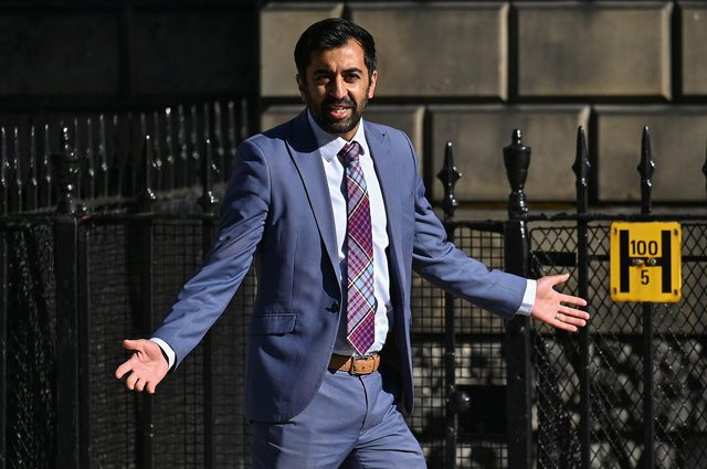 Humza Yousaf has been appointed Cabinet Secretary for Health and Social Care (Picture: Jeff J Mitchell/Getty)