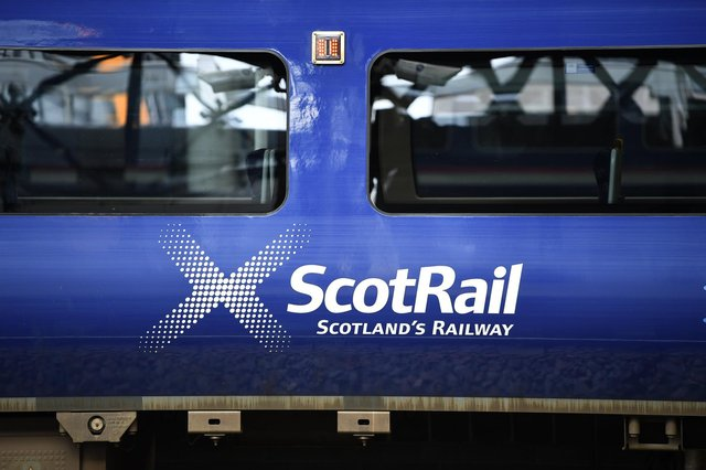 ScotRail is carrying only 10 per cent of its normal number of passengers. Picture: John Devlin