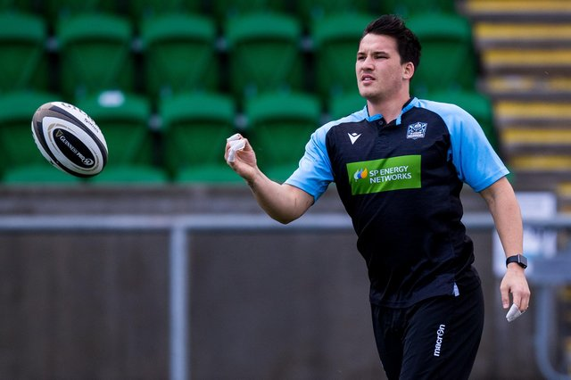 Glasgow Warriors' Sam Johnson admits playing Edinburgh so often can be a little repetitive. Picture: Ross Parker/SNS