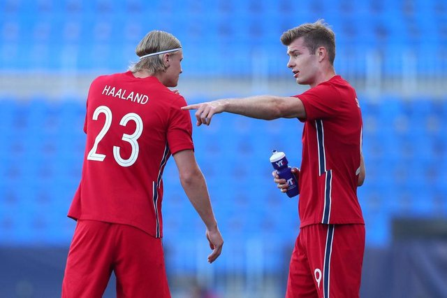Patrick Berg, right, is reportedly a target for a club in Scotland. Picture: SNS
