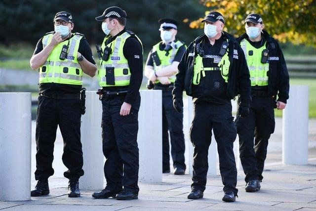 A report into Police Scotland's complaints handling was published last year