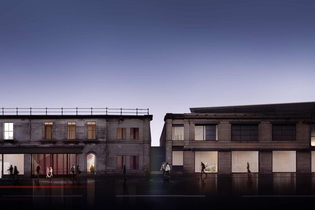 How the new-look Fruitmarket will look once its expansion and refurbishment is complete. Picture: Reiach & Hall