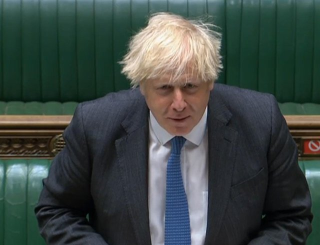 Prime Minister Boris Johnson today denied being aware of the Covid contract.