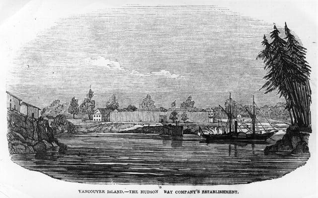 The Hudson Bay Company's establishment on Vancouver Island