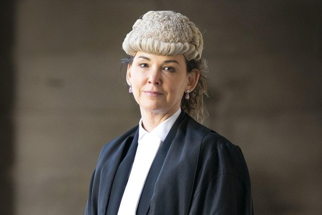 Lord Advocate Dorothy Bain QC after the swearing in ceremony at the Court of Session in Edinburgh