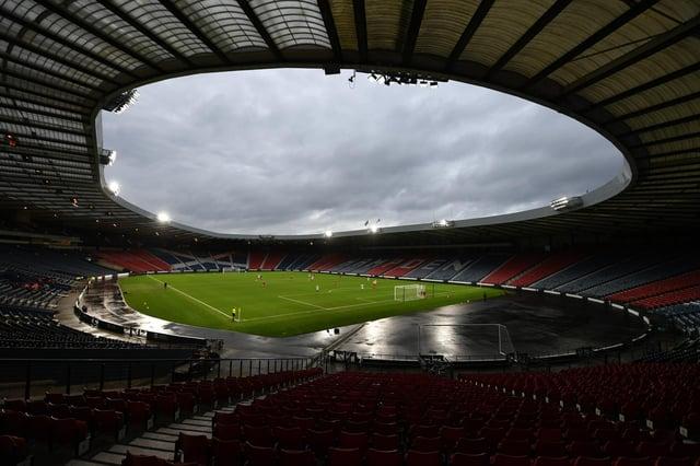 Hampden Park: home of the Scottish FA. Picture: SNS