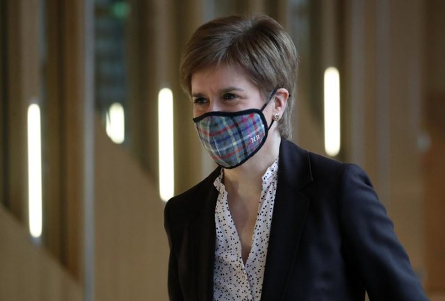 Scotland's First Minister Nicola Sturgeon announced a new wave of restrictions amid rising Covid-19 cases. (Pic: PA)