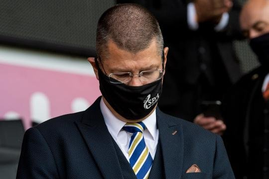SPFL chief executive Neil Doncaster (Photo by Ross Parker / SNS Group)
