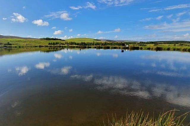 The Tweeddale Millennium Fishery near Gifford in East Lothian