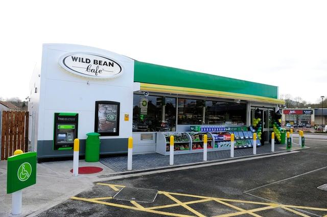 All bp's 33 Wild Bean Cafés across Scotland were closed. Picture: Michael Gillen