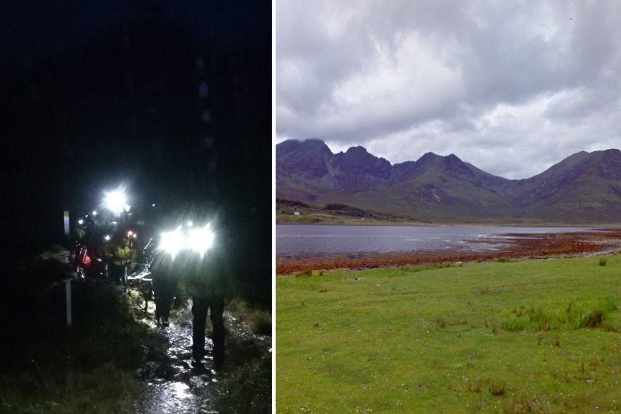 Pendaki bukit ditemukan tewas setelah jatuh dari puncak gunung di Skye