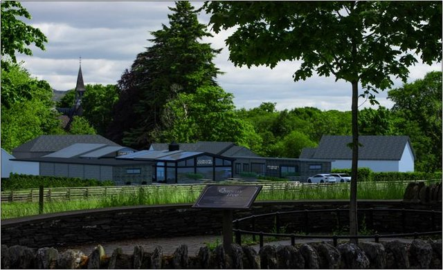 Proposed plans for the Glen Luss Distillery will see a number of new and existing spaces used to host the experimental craft brewery and distillery in the heart of the village.
