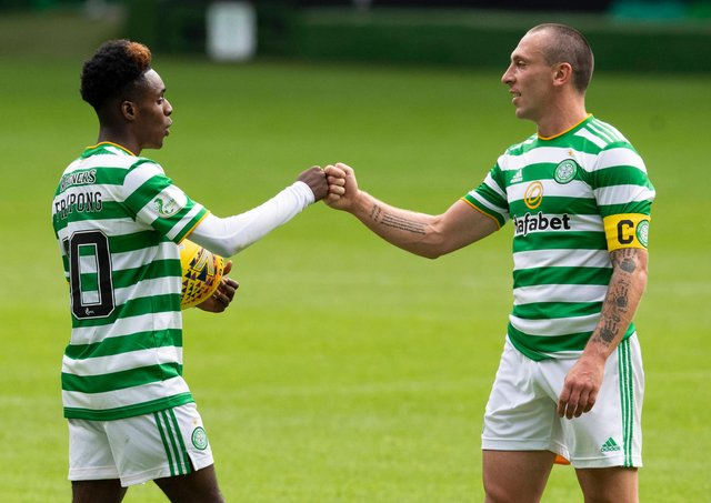 Jeremie Frimpong is in noubt that Scott Brown had more than a hand in the development that has now taken him to Bayer Leverkusen. (Photo by SNS Group).