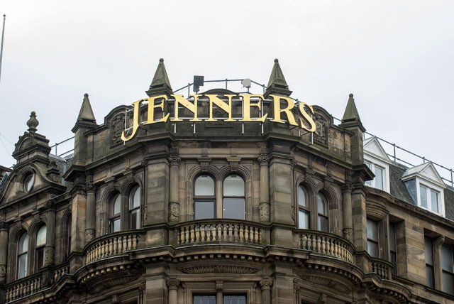 Jenners department store in Edinburgh may have closed but billionaire Anders Holch Povlsen has big plans despite the economic damage caused by Covid and the switch to online shopping (Picture: Lisa Ferguson)