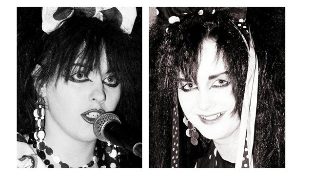 Rose McDowall and Jill Bryson of Strawberry Switchblade, the '80s band from Glasgow.  Their single Since Yesterday reached number 5 on the charts.  PHOTOS: Simon Clegg.