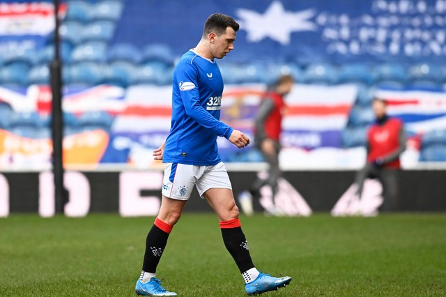 Rangers midfielder Ryan Jack has had surgery on a calf injury. (Photo by Rob Casey / SNS Group)