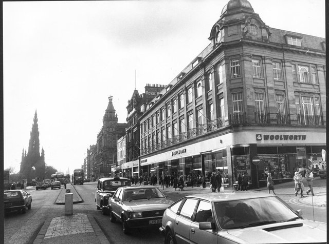 Woolworths at the east end of Princes Street. It closed in the early 1980s.