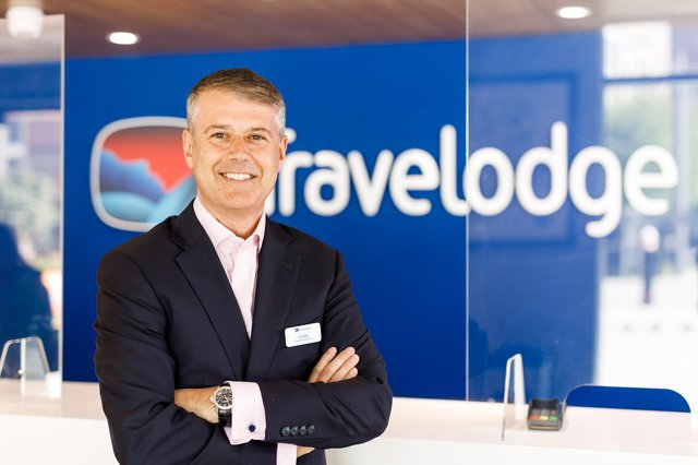 Craig Bonnar, who was born and raised in Kirkcaldy, Fife, takes up the role of chief executive at Travelodge. Picture: Ben Phillips