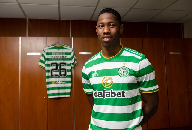 Osaze Urhoghide turned down English Premier League clubs to join Celtic. (Photo by Craig Foy / SNS Group)
