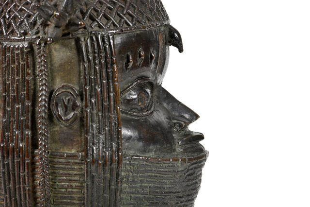 The Benin bronze sculpture of an Oba, or King, which was looted by British forces in the 19th Century and later by bought by Aberdeen University, is to be repatriated to Nigeria in a matter of weeks. PIC: Aberdeen University.