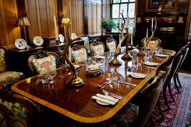 Guests can book out the Royal Waiting Room for private dining.