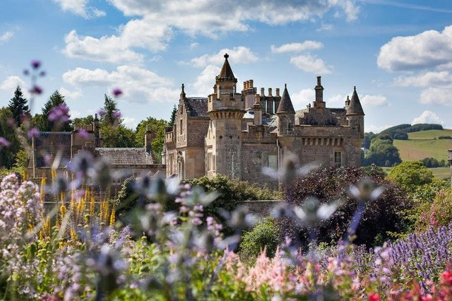 The Abbotsford Trust led a £12 million campaign to restore Abbotsford House, which the Queen opened in 2013.