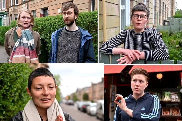 Locals have been reflecting on the events of Thursday on Kenmure Street